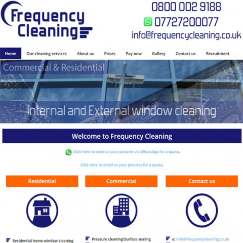 Frequency Cleaning